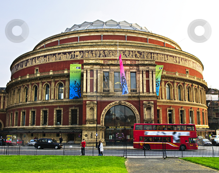 Royal Albert Hall in London stock photo, Royal Albert Hall building in London England by Elena Elisseeva