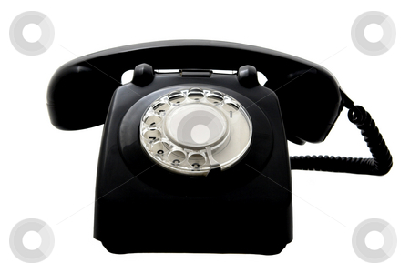 Vintage phone stock photo,  by ikostudio