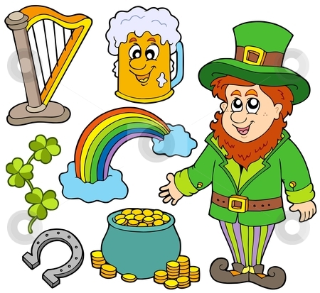 St Patricks day collection 2 stock vector clipart, St Patricks day collection 2 - vector illustration. by Klara Viskova