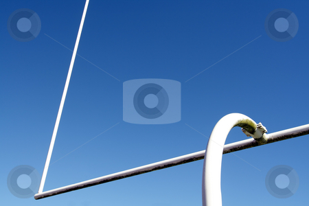 Football goal post stock photo, American football goal post by Suprijono Suharjoto