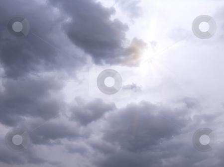 Bad sky stock photo, A photography of a bad sky background by Markus Gann