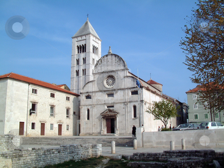 St. Mary church in Zadar, Croatia stock photo, St. Mary church in Zadar, Croatia by Zvonimir Atletic