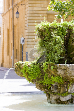 Provence, France stock photo, Aix-en-Provence, Provence, France by Richard Semik