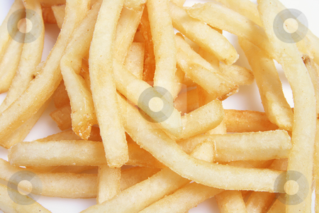 French Fries stock photo, Close Up of French Fries by Lai Leng Yiap