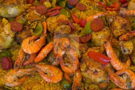 Paella stock photo,  by Wolfgang Heidasch