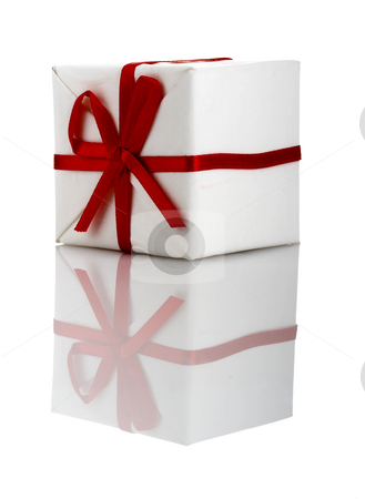 Gifts Boxes stock photo, Christmas season! Small gift boxes with reflection by ikostudio
