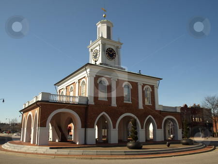 Market house  stock photo, The old market house in downtown Fayetteville, North Carolina. by Tim Markley