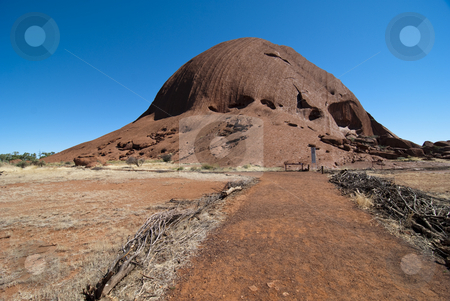 Uluru, Ayers Rock, Northern Territory, Australia, August 2009 stock photo, View of Uluru, Northern Territory, Australia, August 2009 by Giovanni Gagliardi