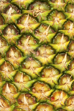 Pineapple detail stock photo, Fresh high resolution photo of pineapple texture. by Fernando Barozza