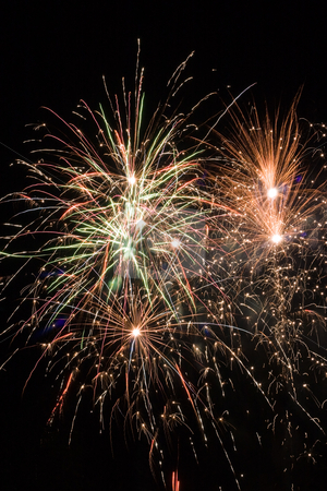 Fireworks night stock photo, Let's have party with this great fireworks show by Colette Planken-Kooij