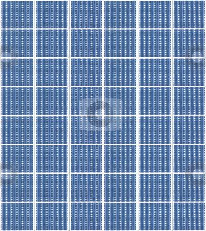 Solar panels stock photo, A photography of a solar panels texture by Markus Gann