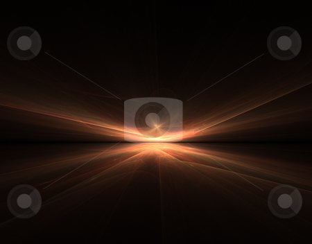 Fractal graphic stock photo, An illustration of a nice orange abstract fractal graphic background by Markus Gann