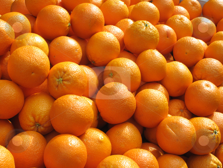 Lots of fresh oranges fruit close up. stock photo, Lots of fresh oranges fruit close up. by Stephen Rees