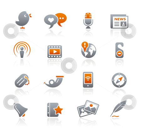 Blog  stock vector clipart, Professional icons for your website or presentation. -eps8 file format- by Diego Alies