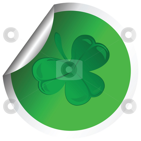 Shamrock  stock photo, Shamrock design by Richard Laschon