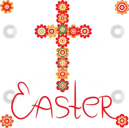 Happy Easter Cross Happy easter cross clipart