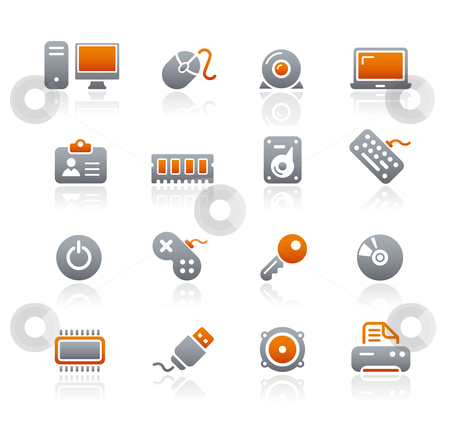 Computer  stock vector clipart, Professional icons for your website or presentation. -eps8 file format- by Diego Alies