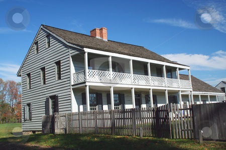 Revolutionary war Historic house stock photo, A Revolutionary war Historic house in New Jersey by Jim Mills