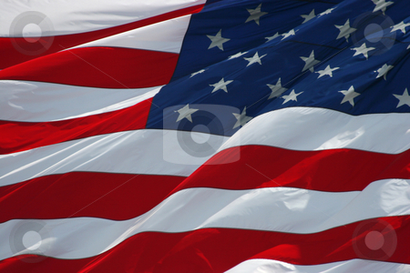 Old glory stock photo, American flag background by Jon Helgason