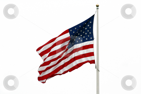 American Flag stock photo, An image of the  American Flag by Jim Mills
