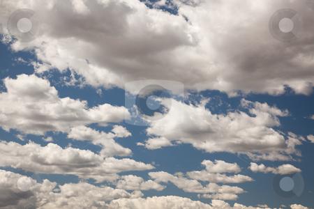 Beautiful Sky and Clouds stock photo, Beautiful Sky and Clouds on a Deep Blue Sky. by Andy Dean