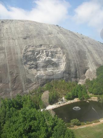 Stone Mountain stock photo, Stone Mountain in Georgia, USA by Ritu Jethani