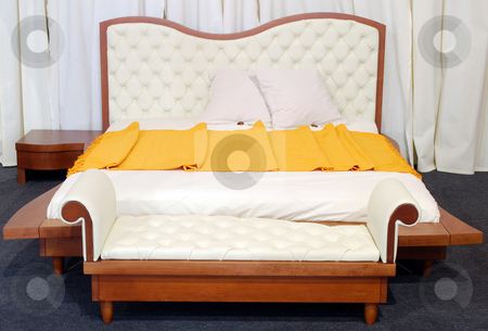 Luxury bed stock photo, Luxury bed by Goce Risteski