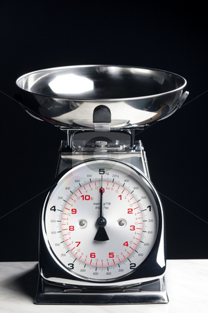 Kitchen scales stock photo, Kitchen scales by Richard Semik
