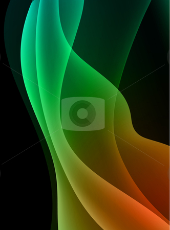 Print stock vector clipart, Abstract Wave Internet Background Original Vector Illustration by L Belomlinsky