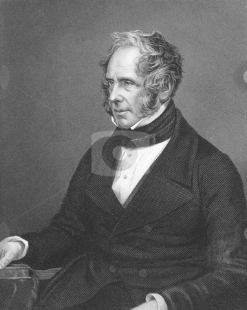 Henry John Temple, 3rd Viscount Palmerston stock photo, Henry John Temple, 3rd Viscount Palmerston on engraving from the 1850s. British statesman that served twice as Prime Minister of Great Birtian in the mid 19th century. Engraved by J.W.Hunt and published in London by J.S.Virtue. by Georgios Kollidas