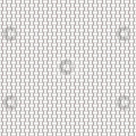 Carbon fiber woven grey stock photo, White woven fabric with seamless repeating pattern ideal desktop by Michael Travers