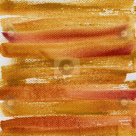 Grunge red and brown painted background stock photo, Red, orange and brown grunge watercolor abstract on artist canvas with a coarse texture, self made by photographer by Marek Uliasz