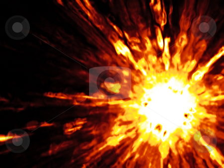 Explosion stock photo, An illustration of a nice explosion background by Markus Gann