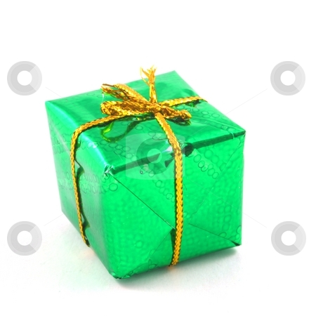 Xmas present stock photo, Xmas holiday present box showing christmas concept by Gunnar Pippel