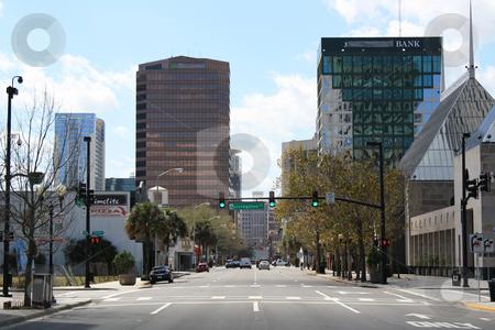 Downtown Orlando, Florida, USA stock photo, Looking south on Orange Avenue in downtown Orlando, Florida, USA. by Carl Stewart