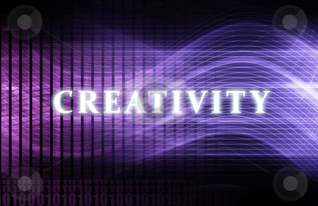 Creativity stock photo, Creativity as a Abstract Background Concept Art by Kheng Ho Toh