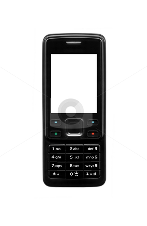 Mobile phone stock photo, An illustration of a nice mobile phone by Markus Gann
