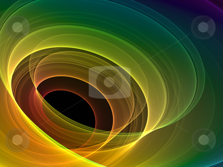 Fractal graphic stock photo, An illustration of a nice abstract rainbow background by Markus Gann