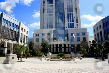 Courthouse, Orlando, Florida, USA stock photo, The courthouse in downtown Orlando, Florida. by Carl Stewart