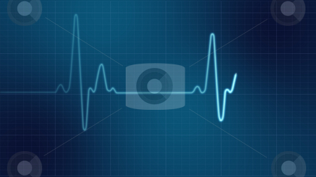 EKG heart monitor  stock photo, EKG heart monitor by Tutku Tetik