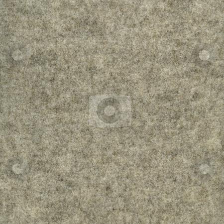 Gray wool felt fabric stock photo, Gray wool felt texture - soft non-woven cloth background by Marek Uliasz