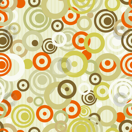 Abstract color circular background stock photo, Illustration drawing of beautiful colourful circular background by Su Li