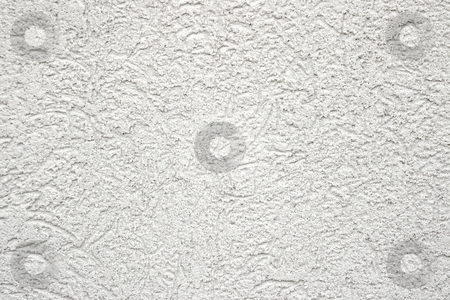 Wall stock photo, White mortar texture of a wall by P?