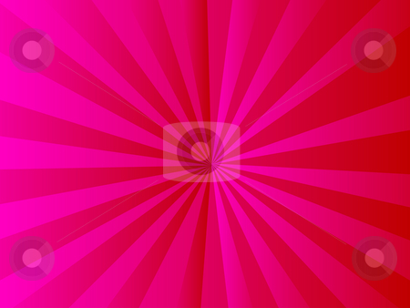 Abstract red ray background stock photo, Illustration drawing of beautiful red ray background by Su Li