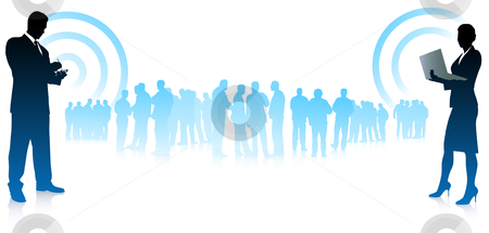 Business Communication Clipart Business Team Communication