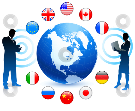 Business Communication Clipart Business Communication With