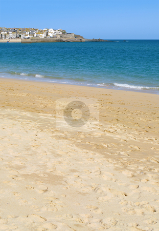 Sandy Porthminster beach in St. Ives, Cornwall UK. stock photo, Sandy Porthminster beach in St. Ives, Cornwall UK. by Stephen Rees