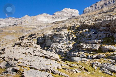 Monte Perdido massif - Ordesa Park. stock photo, Ordesa National Park in Spain view on monte Perdido. by Tomasz Parys