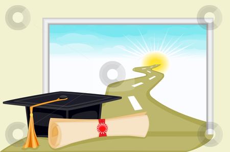 Graduation day stock vector