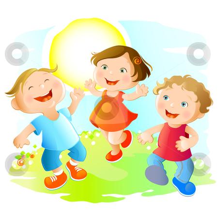 Happy Child Clip Art Happy Children